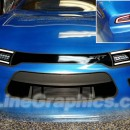 Dodge Charger Hellcat Grill