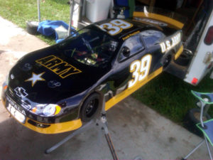 us army nascar body
