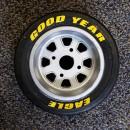 Godyear Eagle Tire Decals