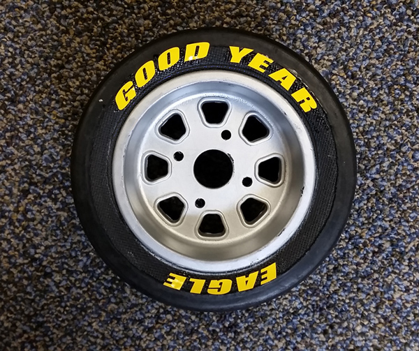 Goodyear Racing Tires >> 1/4 Scale Goodyear Tire Decals - Truline Graphics - RC Racing Decals Grills and Numbers