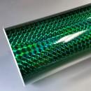 green mirror mosaic vinyl