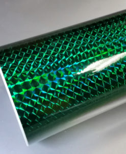 green mirror mosaic vinyl