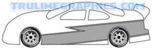1/4 Scale Stripe Kit 2