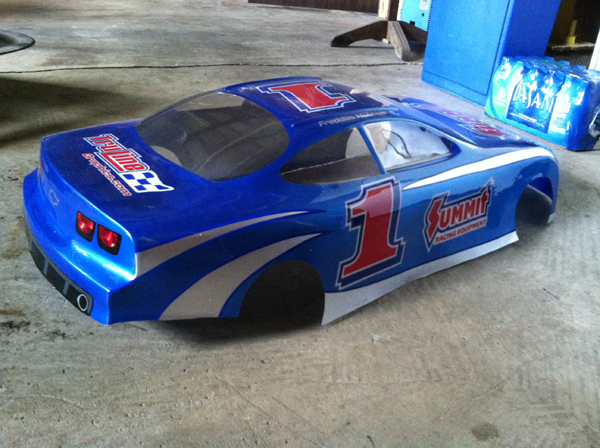 Inside Painted 1 4 Scale Body Truline Graphics Rc Racing Decals