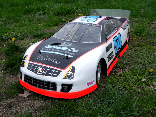 Cadillac 1/4 Scale Custom Body - Truline Graphics - RC Racing Decals