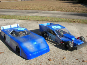 late model 1/4 scale body decals