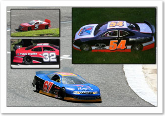 quarterscale car numbers set
