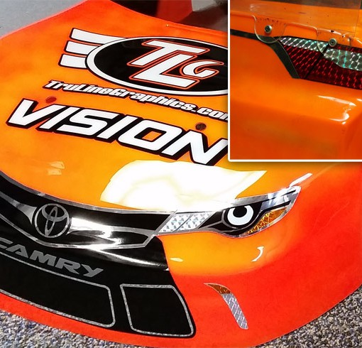 toyota camry grill decals