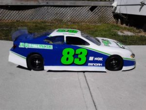JR Quarterscale Body Decals