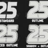 reverse mask numbers RC cars