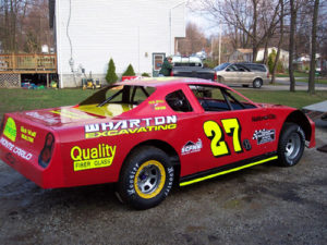 street stock dirt lettering decals