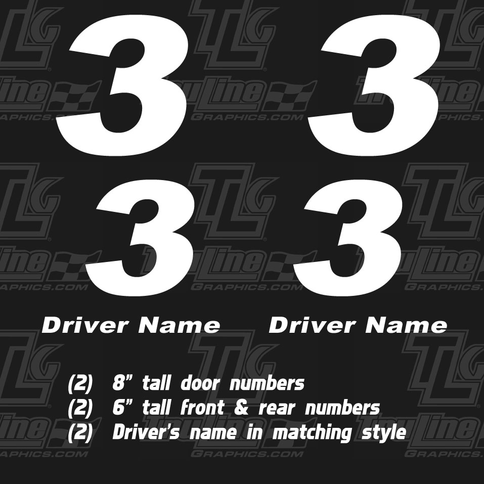 go cart door numbers