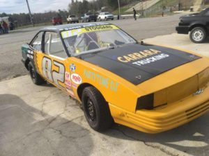 mini stock cavalier number decals
