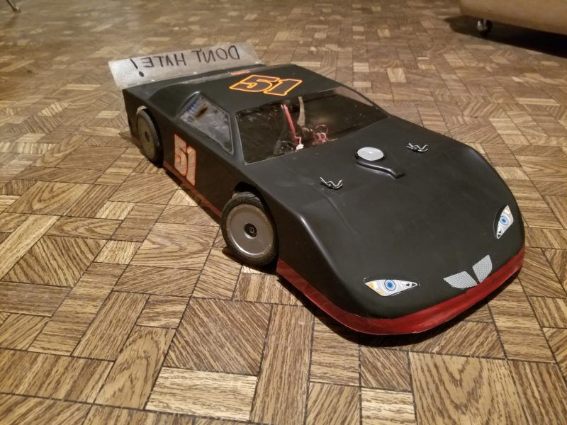 10th Scale RC Racing Numbers