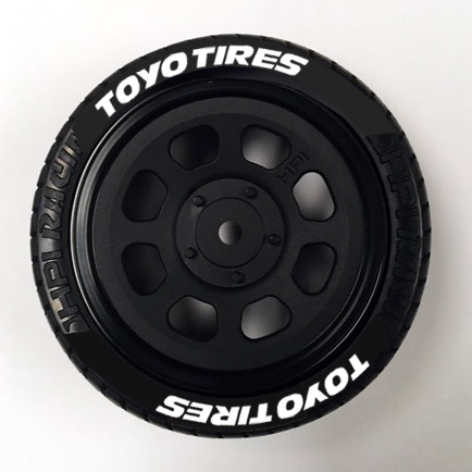 Toyo Tire Decals 10th Scale