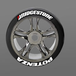 Bridgestone Potenza Tire Stickers RC