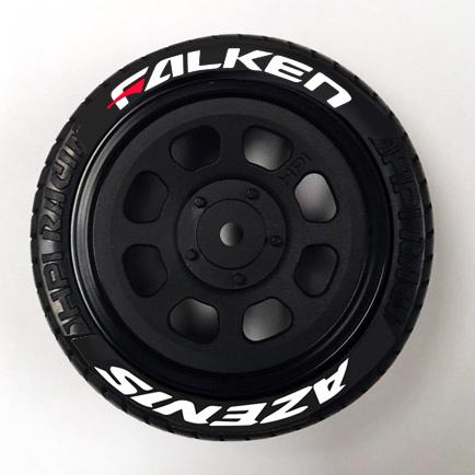 Falken Tire Stickers RC