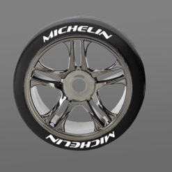 Michelin Tire Stickers 8th Scale RC