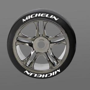 Michelin Tire Stickers 8th Scale RC