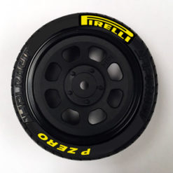 Pirelli Tire Stickers 10th Scale Yellow