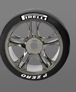 Pirelli Tire Stickers 8th Scale RC
