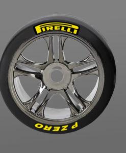 Pirelli Tire Stickers 8th Scale RC