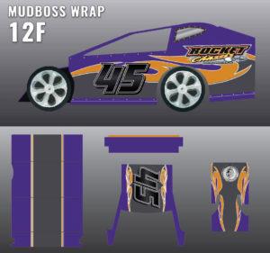 MUDBOSS WRAP 12F