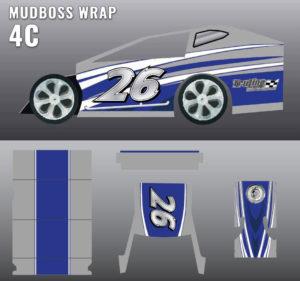 MUDBOSS WRAP 4c