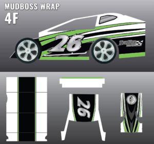 MUDBOSS WRAP 4f