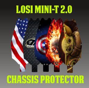 Losi Mini-T 2.0 Chassis Protectors