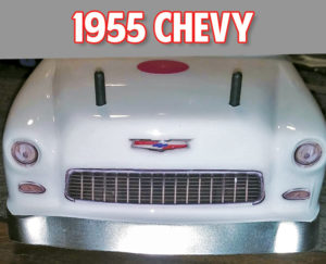 55 chevy grill headlight decals