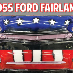 55 ford fairlane grill decals