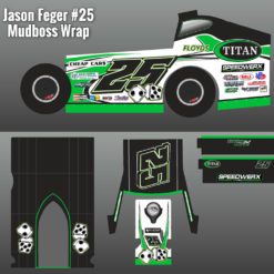 Jason Feger Mudboss Replica