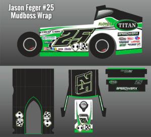 Jason Feger Mudboss Replica