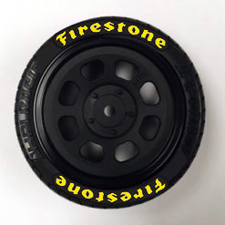 rc tire stickers firestone