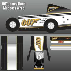 james Bond 007 Mudboss