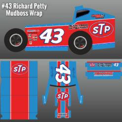 Richard Petty STP 43 Wrap