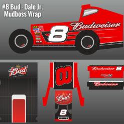 Dale-Jr-Budweister Wrap