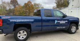 Company Truck Lettering