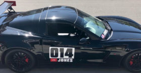 Road Course Vette Number Plates AutoX
