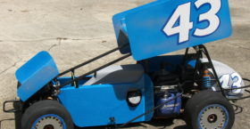 1/4 Scale Sprint Car Decals