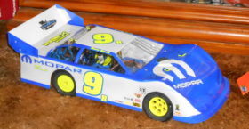 Dirt Late Model RC Number Decals