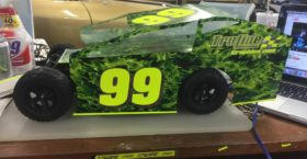 Mudboss Flames and Number Decals