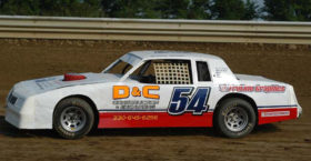 Street Stock Monte Custom Graphics