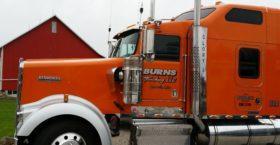 Semi Truck Door Lettering