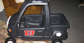 Kids Pedal Car Custom Decals