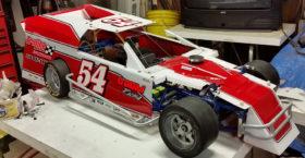 Quarterscale ECM Racing Numbers