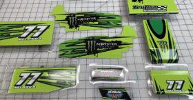 McAllister Sprint Car Wrap