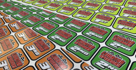RC Racing Placement Trophy Stickers