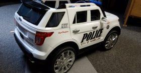 Toy Car Police Cruiser Benefit